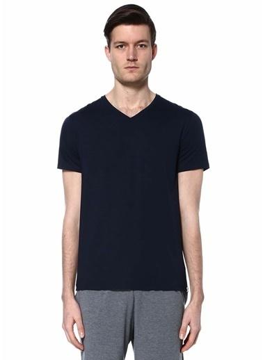 Derek Rose V Yaka Tişört Mavi